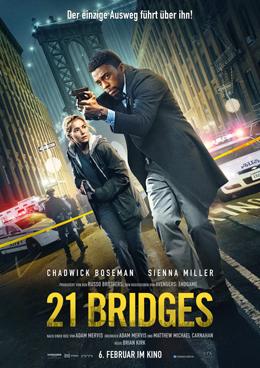 21 Bridges 1, Copyright CONCORDE FILMVERLEIH