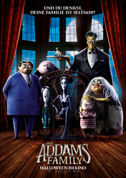 THE ADDAMS FAMILY, Copyright Universal Pictures International