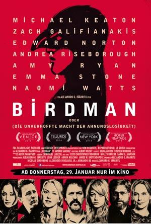 Birdman-1, Copyright  20th Century Fox of Germany