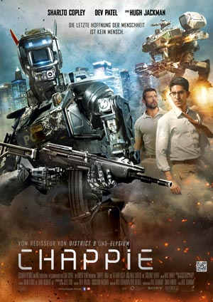 Chappie-1, Copyright Sony Pictures Releasing
