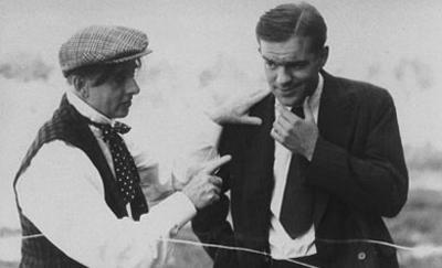 Colin mit (links) Stan -The Man- Wilson