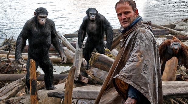 Dawn-of-Apes-3, Copyright Twentieth Century Fox of Germany