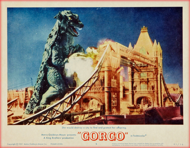 Gorgo 6 - Copyright METRO-GOLDWYN-MAYER