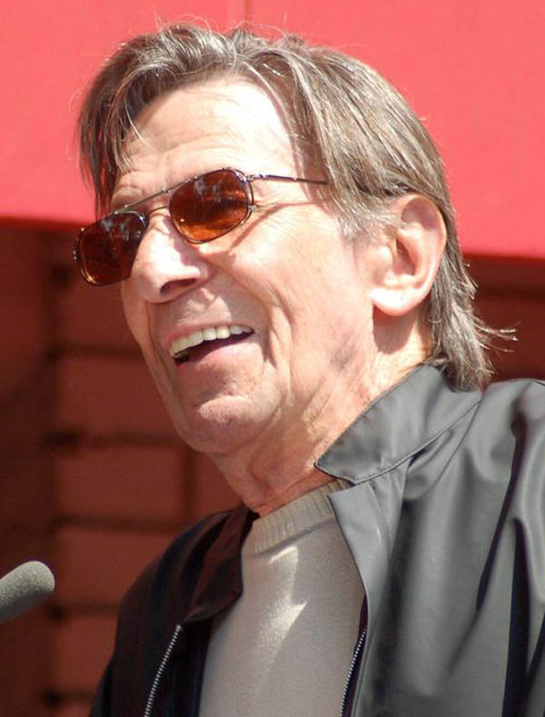 LeonardNimoy, Copyright Angela George
