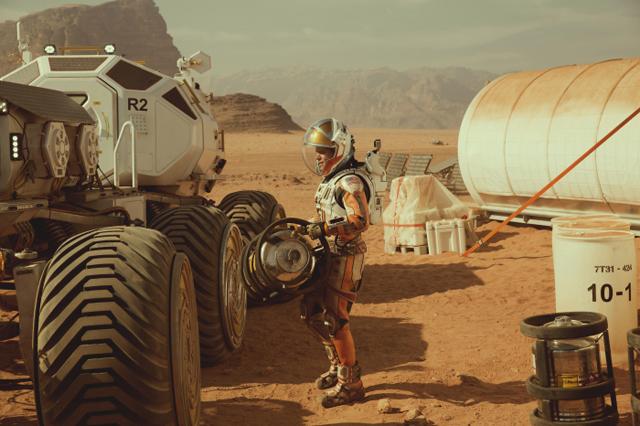Martian-2, Copyright Twentieth Century Fox of Germany