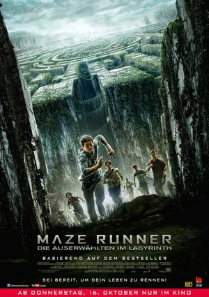 Maze-Runner-1, Copyright 20th Century Fox of Germany