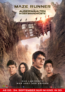 Maze-Runner-2-1, Copyright Twentieth Century Fox of Germany