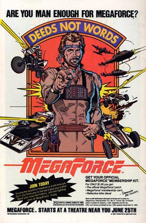 Megaforce-4, Copyright Twentieth Century Fox Film Coperation