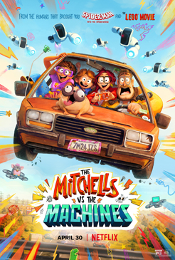 Mitchells Machines 3 - Copyright SONY PICTURES ANIMATION