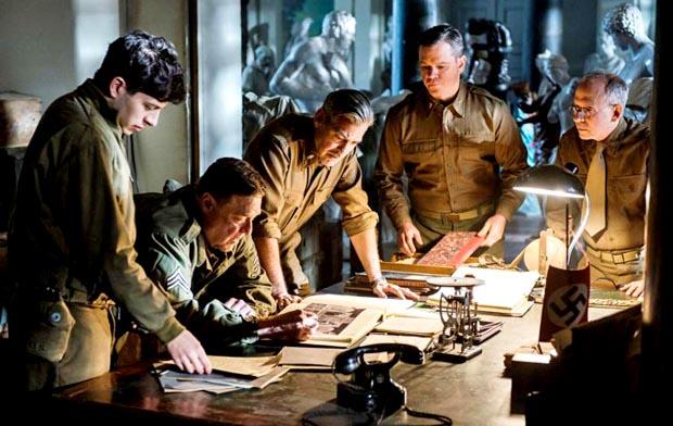 Monuments-Men-2, Copyright Columbia Pictures / 20th Century Fox