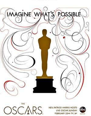 Oscars15poster, Copyright AMPAS