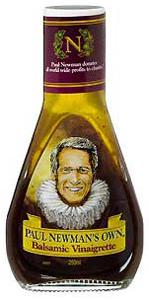 Eine der Newmans Own Salatsaucen