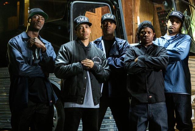 Straight Outta Compton, Copyright Universal Pictures International