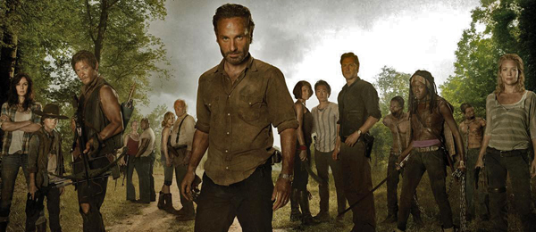 Rick Grimes mit den Überlebenden, Copyright AMC