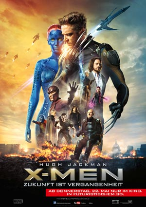 X-Men-DAYS-01, Copyright 20th Century Fox of Germany