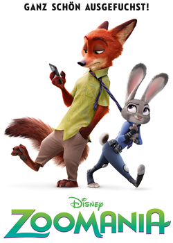 Zootopia-1, Copyright Walt Disney Studios Motion Picture