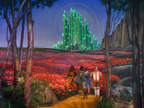 Auf dem gelben Steinweg nach Emerald City